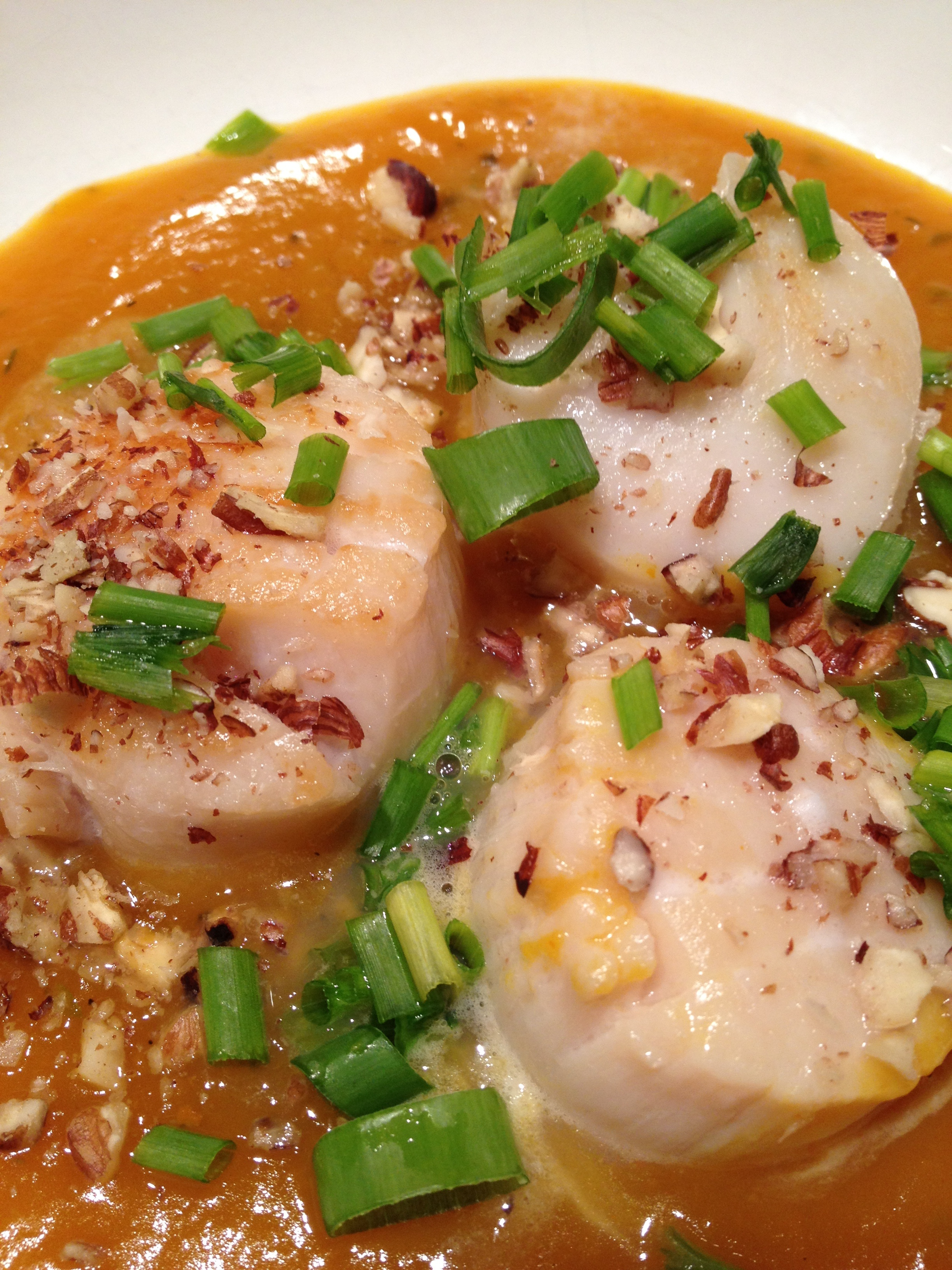 Scallops in Pumpkin Sauce | Balanced Fork, Healthy Life