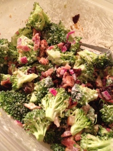 bacon cherry broccoli 2